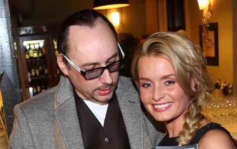 Alice Janečková se svým ex Marianem Vojtkem.