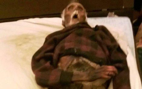 Mumifikované tělo Marcela H.