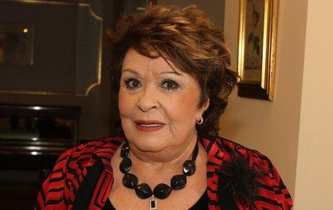 Jiřina Bohdalová je nemocná.