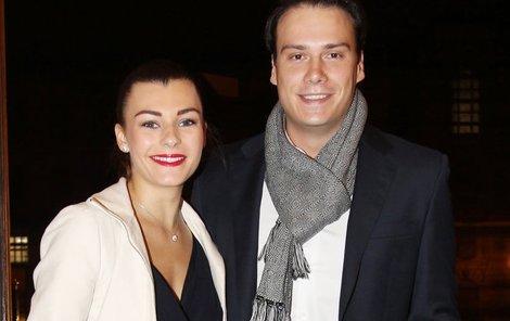 Petr Suchoň s přítelkyní Terezou.