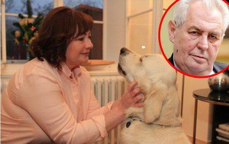 Paní Ivana se psem Darcy se na nový domoček jistě už těší!