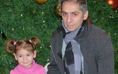 Dvouletá Linda naučila Vlastu milovat Vánoce.