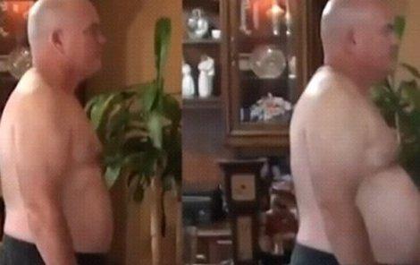 Muž při pojídání nezdravých jídel zhubnul 20 kilo.