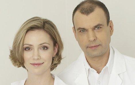 Doktor Mázl s manželkou Magdou, která zemřela na následky chřipky.