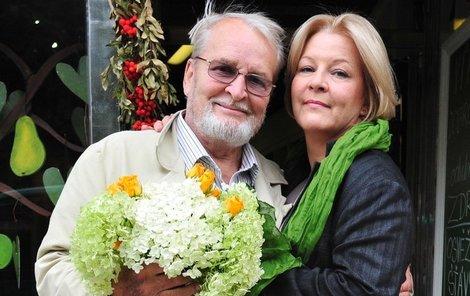 Vladimír Brabec a jeho dcera Helena Brabcová