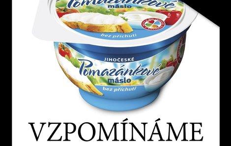Pomazánkové máslo, které zpříjemnilo život několika generacím Čechů,  se vydalo na svou poslední cestu...