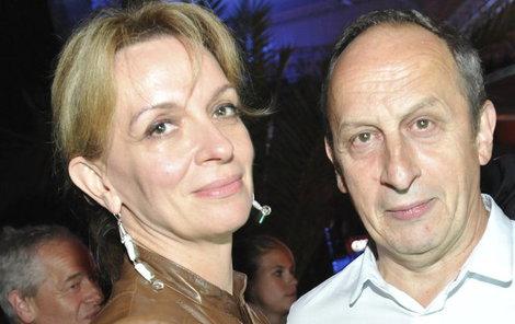 Ivana Chýlková a Jan Kraus už spolu mají také syna - šestnáctiletého Jáchyma.