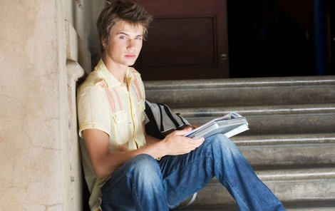 Student (ilustrační foto)