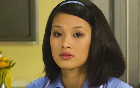 Ha Thanh v roli sestřičky.