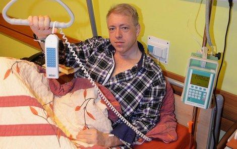 Po krvácení do břicha se Chovanec probral na ARO