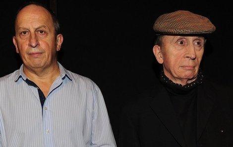 Bratři Jan a Ivan Krausovi budou číst v divadle povídky.