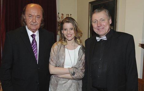 František Janeček, Michaela Gemrotová a Petr Dohnal
