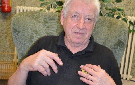 Jiří Březík se napil otrávené vodky 21. září 2012.