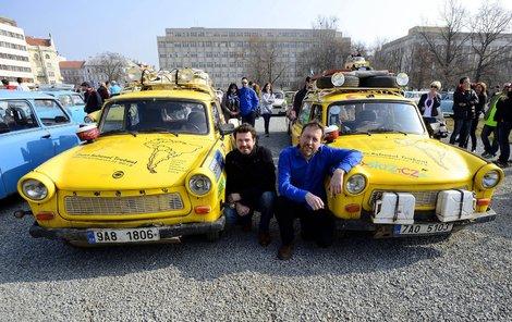 Cestovatel Dan Přibáň se svými slovanskými kolegy zažil za oceánem v trabantu neuvěřitelné věci.