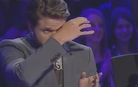 Ondřej Brzobohatý se rozplakal.