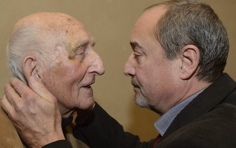 Viktor Preiss a Otakar Brousek