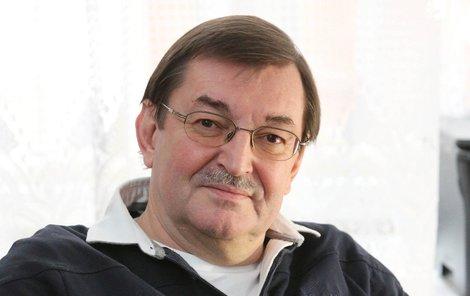 Zdeněk Barták trpí v bolestech kvůli ploténce.