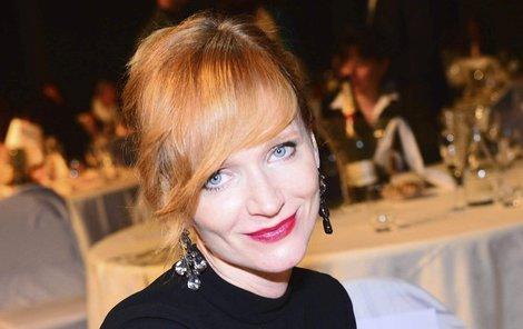 Herečka Anna Geislerová