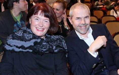Marek Eben své ženě Markétě byl vždy oporou