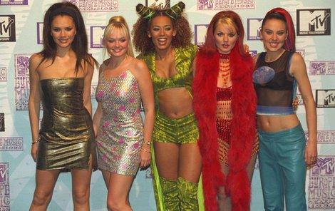 Spice girls v době své největší slávy.
