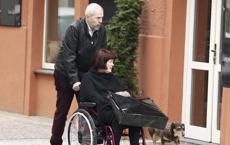 Marek Eben a Markéta Fišerová.