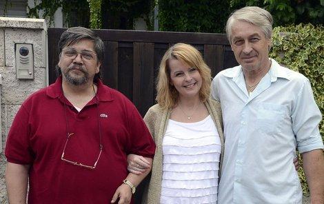 Saavedra s Ivetou a Rychtářem.