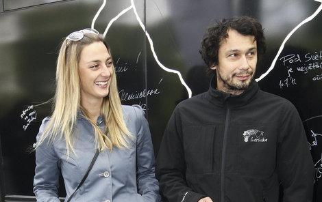 Bára Poláková s přítelem Pavlem Liškou. Ti dva se hledali, až se nakonec našli.
