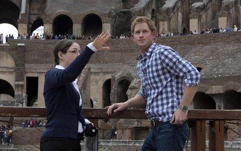 Harry byl pro turisty velkou atrakcí.