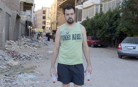 Kramný strávil v Egyptě skoro čtvrt roku. A byl poměrně aktivní, jak se teď ukazuje.