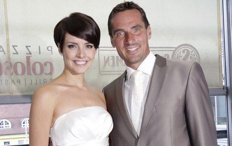 Gábina Kratochvílová a Roman Šebrle tvoří pár jako že žurnálu.