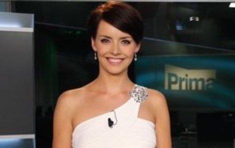 Gabriela Kratochvílová je pohybově nadaná, i když to při moderování v televizi není vidět!