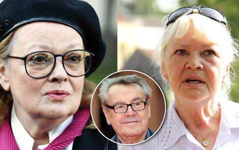 Jana prý nikdy nevydýchala, že její mladší sestru v roce 1965 Forman obsadil do hlavní role Anduly filmu Lásky jedné plavovlásky.