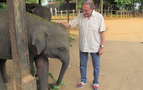 Loni Gott několik dní se svojí rodinou poznával tento ostrov v jihovýchodní Asii.