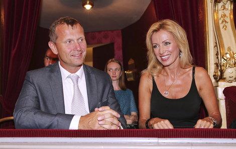 Kateřina Brožová s přítelem Jaromírem Soukupem.