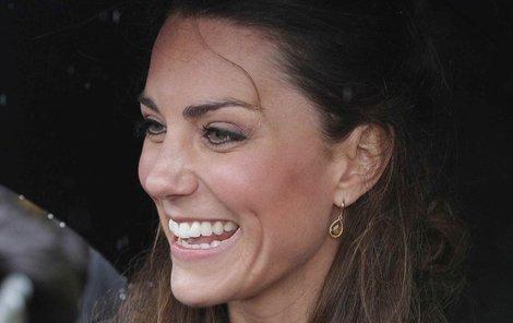 Kate Middleton je podruhé těhotná!