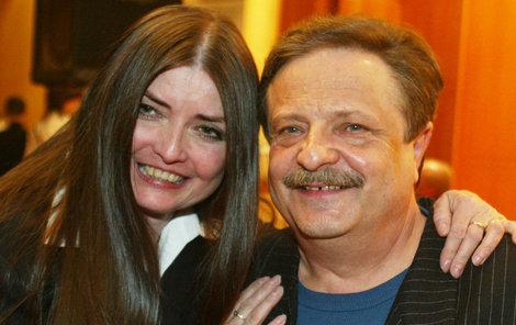 Miluška Voborníková a Petr Spálený