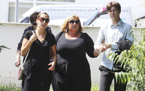 Pawlowská s dcerou Natálií a synem Petrem.