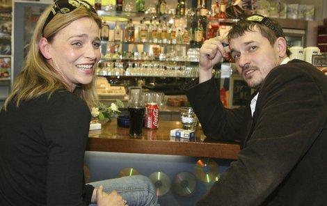 Petr Štěpán s dnes již bývalou přítelkyní Lucií Zedníčkovou.