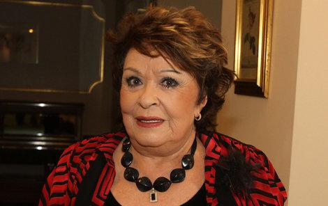 Herečka Jiřina Bohdalová