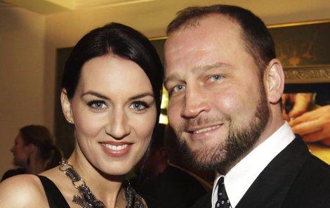 Lucie Šlégrová by s manželem chtěla miminko.