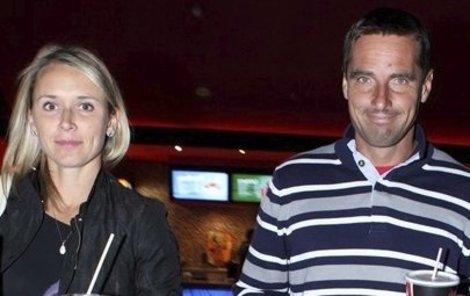 Roman Šebrle s manželkou Evou.