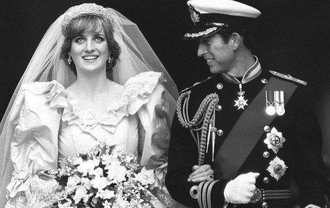 Diana s Charlesem se vzali 29. července 1981.