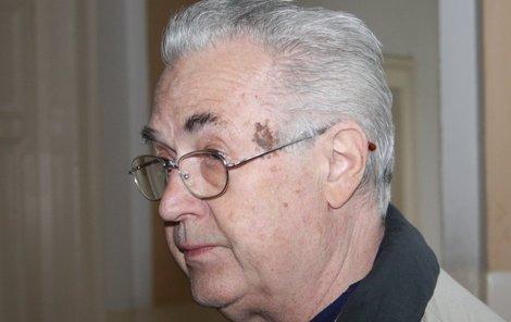 Bronislav Poloczek byl v posledních dnech života velmi pohublý.