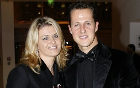 Michael a jeho manželka Corinna.