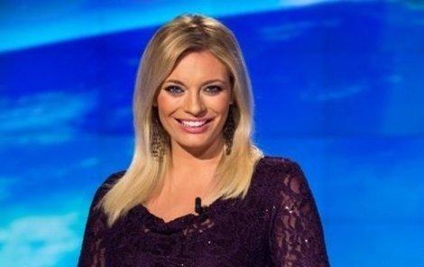 Široký úsměv Lucie Borhyové. Zmizí znovu z obrazovky kvůli těhotenství?