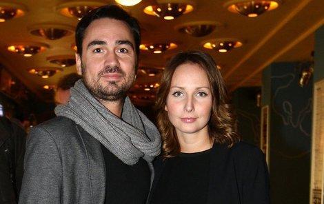 Veronika Arichteva s manželem Biserem.