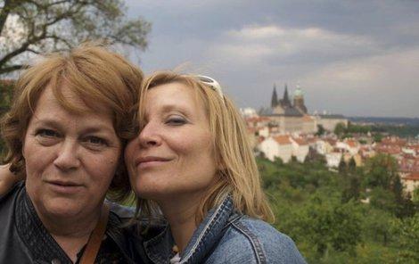 Jitka Smutná s partnerkou Petrou Braunovou