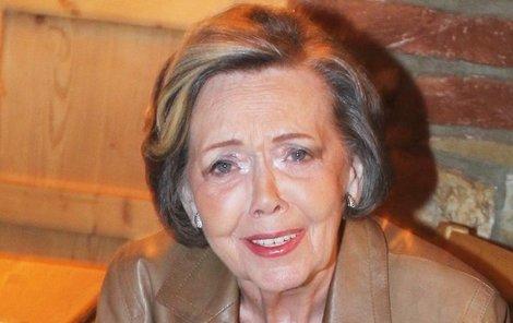 Jiřina Jirásková byla manželkou Jiřího Pleskota před Olgou Čuříkovou.