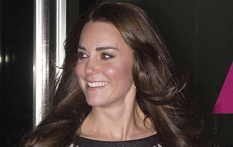 Podruhé těhotná Kate Middleton se ukázala na veřejnosti.