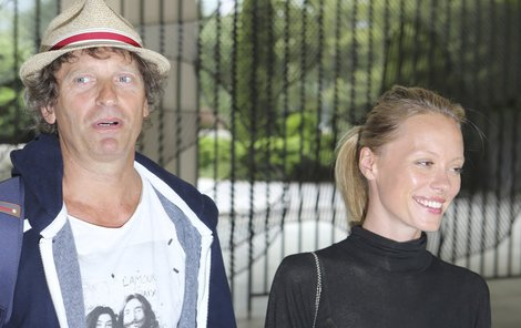 Linda Rybová s manželem Davidem Prachařem